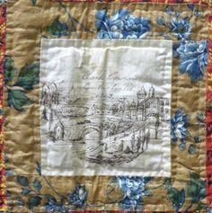 Quilts, pierres tombales, et ancêtres Elusive: Common Threads Quilt pièce