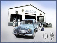 Plaque metal publicitaire fiat 500 1957 20 x 30 plak for Budget pour ouvrir un garage auto
