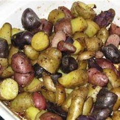 BBQ Potato Roast