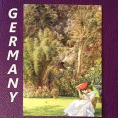 2017-06-11 #Postcard from #Germany (DE-6182425) via #postcrossing #art