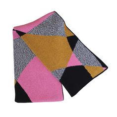 Happy Habitat Knit Cotton Throw  Perfect on the couch or at a picnic.  80% recycled cotton and 20% acrylic.