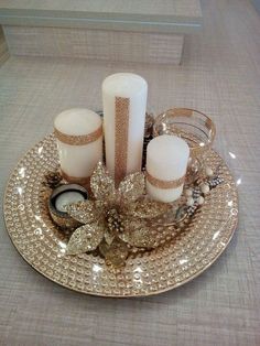 72 Trend Simple Rustic Winter Christmas Centerpiece Simple And Popular Christmas Decorations, Table Decorations, Christmas Candles, DIY Christmas Centerpiece, Christmas Cra. Christmas Candle Decorations, Christmas Table Centerpieces, Christmas Candles, Gold Christmas, Simple Christmas, Winter Christmas, Christmas Wreaths, Christmas Crafts, Centerpiece Ideas