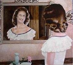 Betty en el espejo
