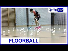 Floorball Stickhandling, training idea to drill control of the floorball stick and ball. Upgrade the Speed of your floorball tricks / Video was inspired by P. Drill, Coaching, Train, Youtube, Training, Hole Punch, Drills, Drill Press, Strollers