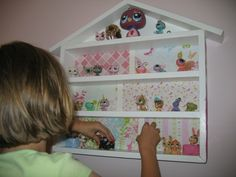 Controlling Craziness: A DIY Littlest Pet Shop House