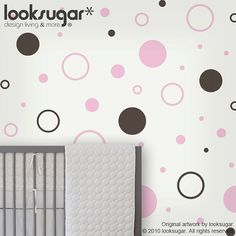 Circle Children wall stickers  children wall decals  by looksugar, $25.00