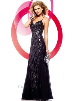 Faviana Glamour S7150 Sparkly Prom Dress