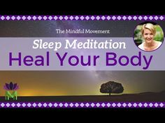 Heal Your Body While You Sleep / Sleep Meditation with Delta Waves / Mindful Movement Guided Meditation For Sleep, Breathing Meditation, Morning Meditation, Meditation Quotes, Healing Meditation, Meditation Music, Stress Relief Music, Spiritual Healer, Abuse Survivor