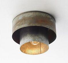 Industrial Chic Corrugated Tin | Atticmag | Kitchens, Bathrooms, Interior Design