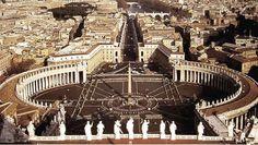 Bernini colonnato di S. Pietro
