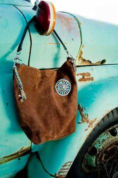 Repurposed Starburst Hobo bag