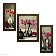 Checkout this latest Paintings_500-1000 Product Name: * Alluring Decorative Wall Paintings* Material: Synthetic Size: (L X W) Images 1 - 5.2 in X 12.5 in Image 2 - 9.5 in X 12.5 in image 3 - 5.2 in X 12.5 in Description: It Has 3 Pieces Of Wall Painting Work: Printed Country of Origin: India Easy Returns Available In Case Of Any Issue   Catalog Rating: ★4 (287)  Catalog Name: New Alluring Decorative Wall Paintings Vol 5 CatalogID_729682 C127-SC1611 Code: 503-4976992-456