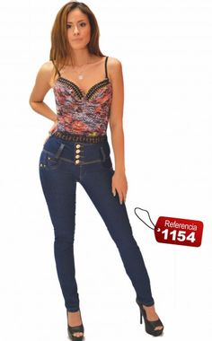 Jeans Push-Up  Classic Ref. 1154