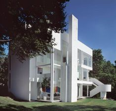 Classic Architecture, Residential Architecture, Architecture Design, Richard Meier, Wallpaper Magazine, Home Wallpaper, Architecture Wallpaper, Art Deco Home, Cool House Designs