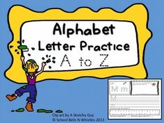 """26 Fun letter practice pages! Individual page for each letter of the alphabetEach page has:TracingColoringLetter writing practice """"Draw picture of something the begins with the letter....""""Circle all of the lettersCount the capital and lower case lettersAny questions, please send me a message. :-)File is in Power Point and is not editable."""