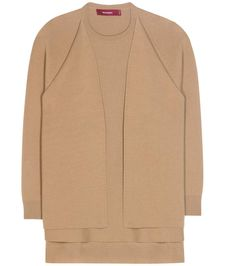 mytheresa.com - Virgin wool and cashmere-blend sweater - Luxury Fashion for Women / Designer clothing, shoes, bags