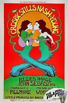 Crosby, Stills, Nash & Young Fillmore West 1969