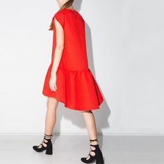 Loose O-Neck Party Dress
