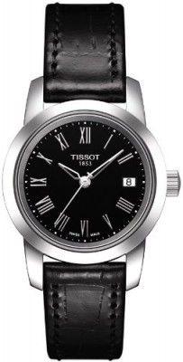 d2fb93eae89 Relógio Tissot Classic Dream Black Dial Black Leather Ladies Watch  T0332101605300  Relogios  Tissot Rolex