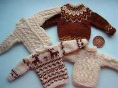 Buttercup Miniatures - miniature knitting & crochet patterns