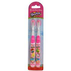 Brush Buddies Shopkins Make Brushing Fun Toothbrushes