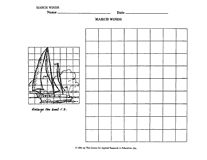 March Winds Grid Drawing Activity (3rd–6th Grade) - TeacherVision.com