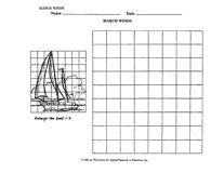 Grid art worksheet