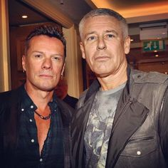Adam Clayton and Larry Mullen Jr. U2 Music, Paolo Nutini, Bono U2, Larry Mullen Jr, Adam Clayton, U 2, Greatest Songs, Interesting Faces, Cool Bands