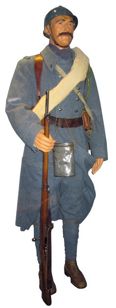 French World War 1 Army Uniform.