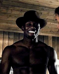Trevante Rhodes in Westworld Can his smile be any better? Fine Black Men, Gorgeous Black Men, Hot Black Guys, Handsome Black Men, Black Boys, Fine Men, Beautiful Men, Fine Boys, Black Women