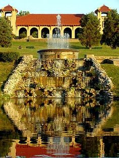 Opera House in Forest Park, Saint Louis, Missouri - saw Meet Me in St. Louis there when I was a child
