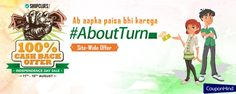 100% Cashback offer! Ab Apka Paisa Bhi Karega #AboutTurn with Shopclues Independence Day Sale from 11th - 15th August.