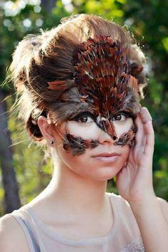 DIY | Crafts on Pinterest | Owl Makeup, Owl Mask and Owl