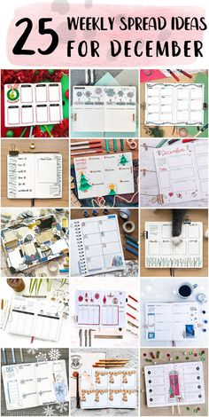 Cute Bullet Journal Weekly Spread Ideas Step By Step - Bullet Journal For School Bullet Journal Weekly Spread Layout, Shooting Star Wish, Happy December, Bubble Letters, Bullet Journal School, Draw On Photos, New Theme, Lettering, Staying Organized
