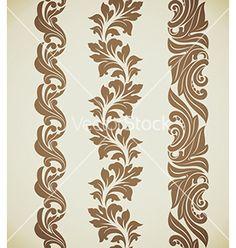 Baroque+patterns+vector+1454666+-+by+artefy on VectorStock®