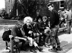 Punks, Worlds End, London, 1978