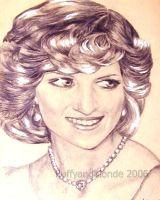 Princess Diana by fluffyandblonde