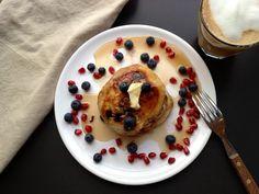 Amerikanske pandekager med blåbær Mit livs Kogebog
