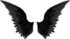Supernatural+Black+Angel+Wings