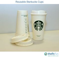 Do you want an inexpensive travel mug that helps reduce waste? The new reusable Starbucks cups are only $1! They are dishwasher and microwave-safe. You also get a $.10 discount for using it when you come into the store for a coffee.