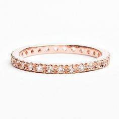 Rose Gold Band | Alex Mika Jewelry