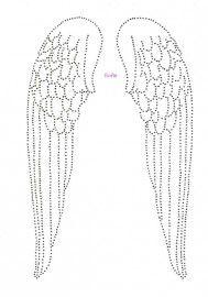 Vleugels | Vleugels | glittermotifs