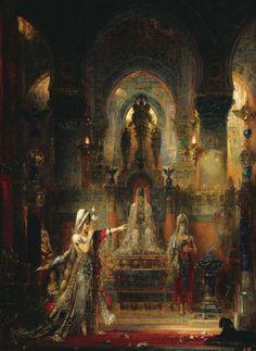 Gustave Moreau April 1826 – 18 April was a French Symbolist painter whose main emphasis was the illustration of biblical and mythol. Art And Illustration, Fantasy Kunst, Fantasy Art, Art Magique, Arte Peculiar, Ouvrages D'art, Fine Art, Oeuvre D'art, Art History