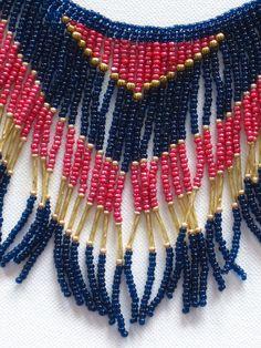 Native American style tribal fringed by MontanaTreasuresbyMJ