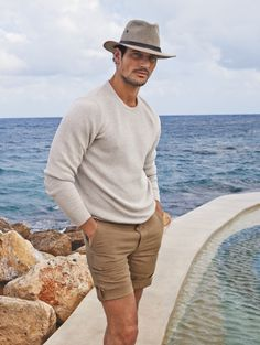 David Gandy's range is made up of iconic designs cut from the most comfortable fabrics for a classic elegant look.
