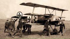 Fokker Dr.1 of Jasta 36 flown by Ltn. Patzer ~ BFD