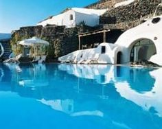 Hotel in Santorini, Greece