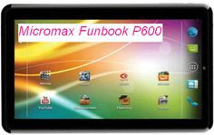 Micromax Funbook P600 3G with Voice Calling Tablet