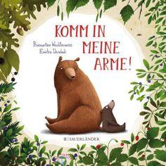 Als die Sonne ihre Zähne putzt, beschließen Papa Bär und sein Sohn, dass dieser Tag besonders schön werden soll. Sie ziehen los und umarmen jeden, der ihnen über den Weg läuft. Abends fällt dem kleinen Bären auf, dass nicht alle Tiere mit einer Umarmung bedacht wurden. Wen haben sie wohl vergessen? Dieses kuschelige Buch sorgt für ein sonniges Wohlbefinden und schöne Momente, wenn man die Bären-Idee aufgreift. Przemystaw Wechłerowicz/Emilia Dziubak, Komm in meine Arme! Fischer Sauerländer…