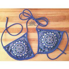 NEW Deep Sea Bikini Top by MandalaMinds on Etsy